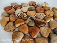 Dřevěná srdíčka