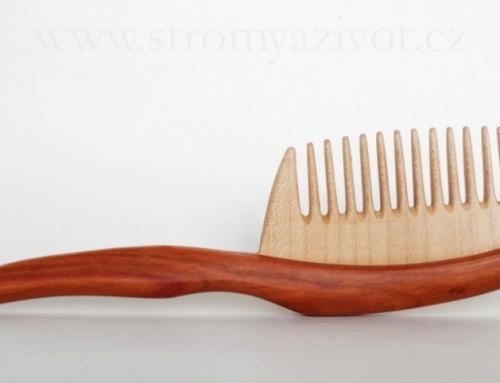 Dřevěné hřebeny – prosinec/advent 2020